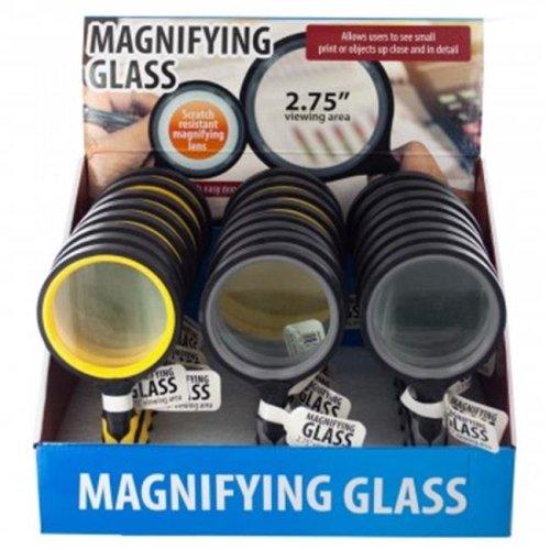 Kole Imports HX199-12 Magnifying Glass Countertop Display, 12 Piece