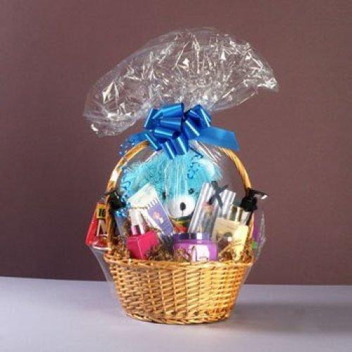 """Cellophane Shrink wrapper 24"""" x 30"""" for Gift Basket/Hamper 5 Bags(DOES NOT INCLUDE BASKET or HAMPER) on OnBuy"""
