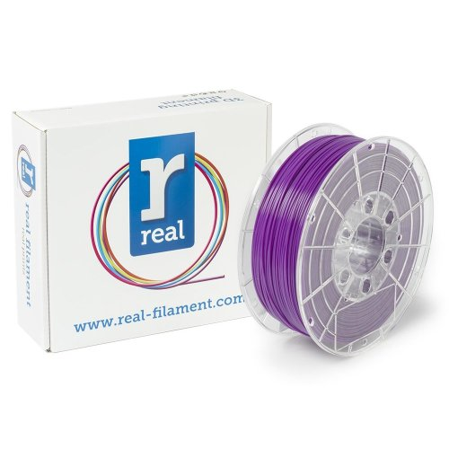 Real Filament 8719128324937 Real PLA, Spool of 1 kg, 1.75 mm, Purple