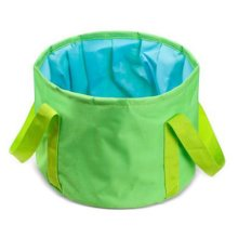15L Portable Folding Wash Basin Leak-proof Foldable Bucket Footbath Basin with Carrying Pouch #3