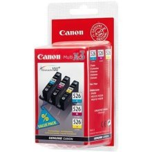 Canon CLI-526 °C/M/Y Pack Cyan – Yellow Ink Cartridge