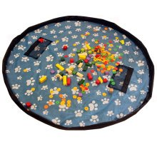 Baby Kids Play Floor Mat Toy Storage Bag  Quickly Easily Folds Up,Feet Pretty