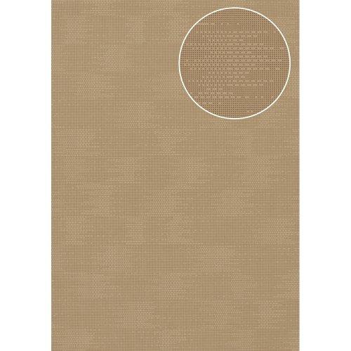 Atlas COL-499-3 Unicolour wallpaper matt grey-beige 5.33 sqm