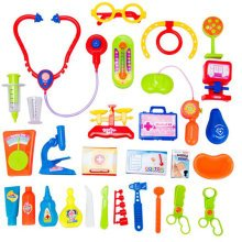 Learning Toys Pretend & Play Doctor Set Durable Kids Doctor Kit