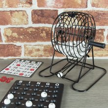 Global Gizmos Traditional Bingo Lotto Game Set