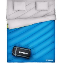 a49c854093b Fundango Double Sleeping Bag Queen Size XL Cold Weather 2-3 Person  Waterproof Sleeping Bag with 2 Pillow and Compression Sack