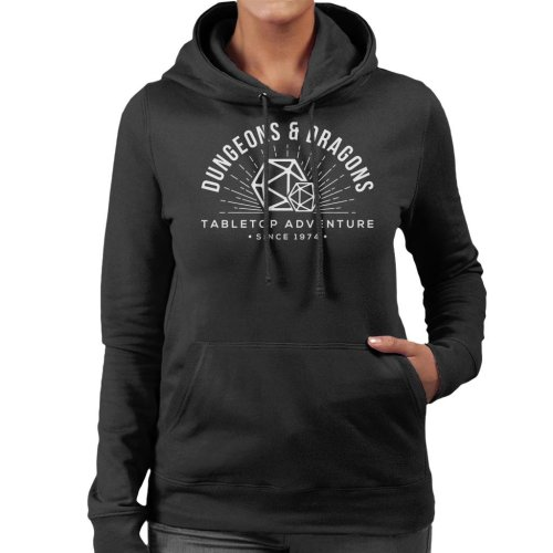 Dungeons And Dragons Table Top Adventure Women's Hooded Sweatshirt