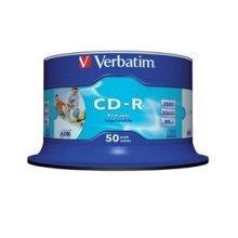 Verbatim CD-R AZO Wide Inkjet Printable CD-R 700MB 50pc(s)