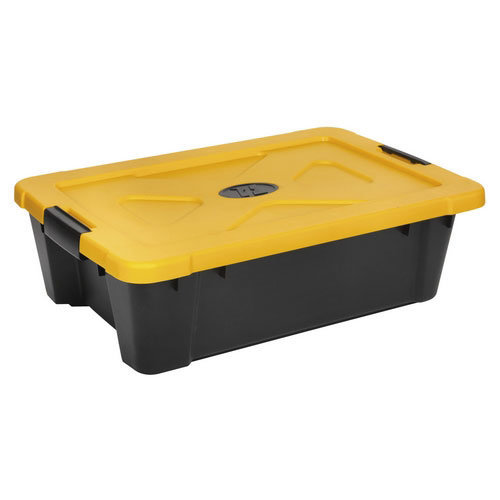 Sealey APB27 27ltr Composite Stackable Storage Box with Lid