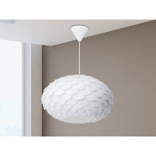 Modern Ceiling Lamp Pendant white - Hanging lamp - Chandelier - ERGES