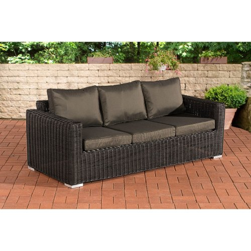 3 seater sofa Bilbao / anthracite Madeira