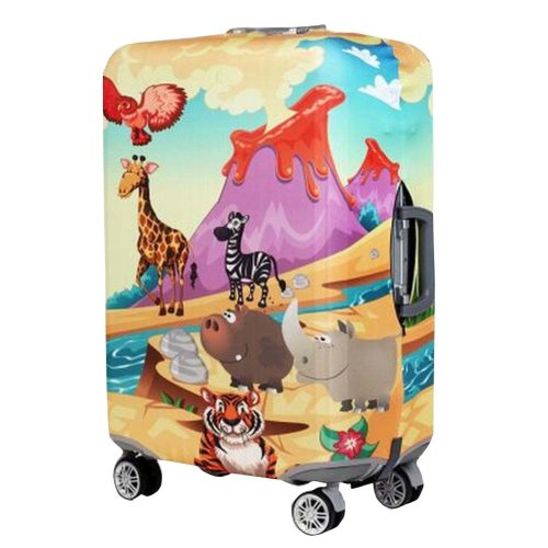 Large Size Travel Luggage Suitcase Cover Fits 26-28 Inch Luggage