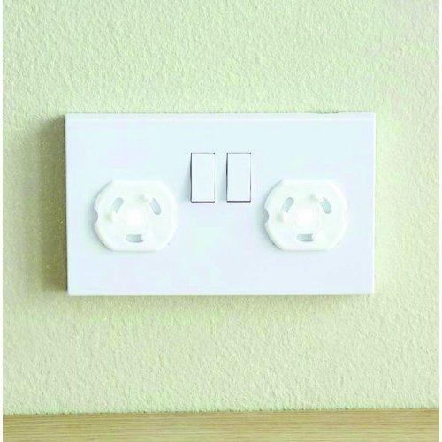 BabyDan Twisting Plug Socket Cover Pack of 12 (24 Pack)