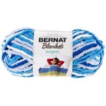 Bernat Blanket Brights Yarn-Waterslide Variegated