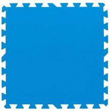 Bestway Pool Floor Protectors 8 pcs 50x50 cm Blue 14352