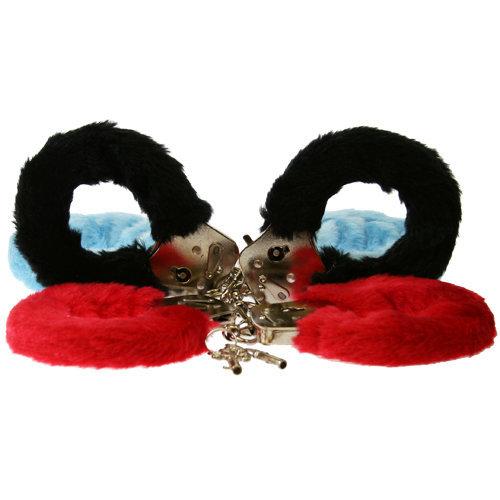 Furry Fun Cuffs-Black