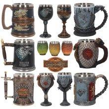 Game Of Thrones Tankard Goblet Shot Glasses
