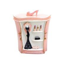 Resin Cotton Stick Box Toothpick Holder Storage Box, Beauty