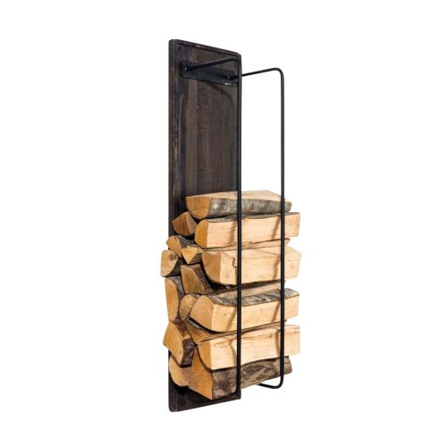 Firewood rack Houston wall 90