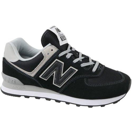 New Balance ML574EGK Mens Black sneakers
