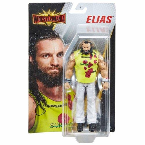 WWE Basic - Wrestlemania 35 - Elias Figure