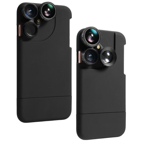 4In1 Camera Lens Kit Fisheye+Macro+Wide Angle+CPL+Phone Case For iPhoneX 8/8Plus 7/7Plus