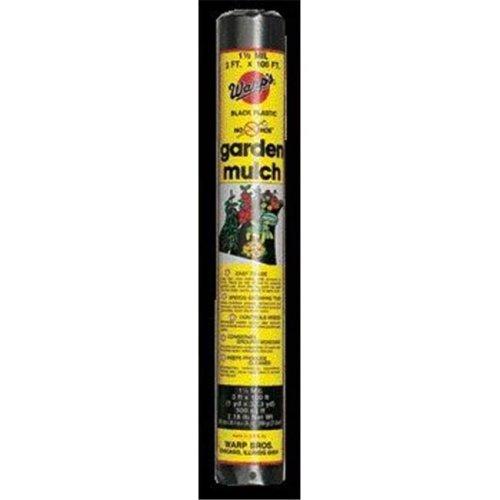 Warp Brothers Garden Mulch- Black 3 X 100 - NH-3100