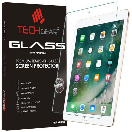 "TECHGEAR® iPad (9.7""/2017) GLASS Edition Tempered Glass Screen Protector"