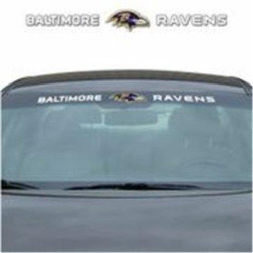 Team Promark WSDNF03 Windshield Graphic Decal - Baltimore Ravens