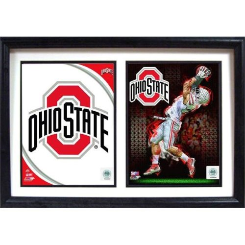 Encore Select 297-38 12 x 18 .in Double Frame - Ohio State Buckeyes