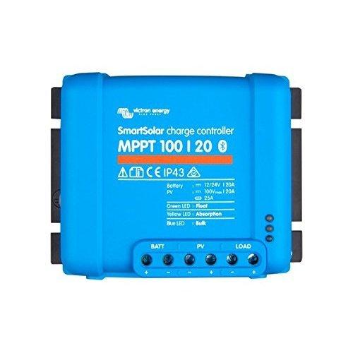 Victron Energy SmartSolar MPPT 100/20 12/24V-20A Solar Charge Controller Bluetooth Inside
