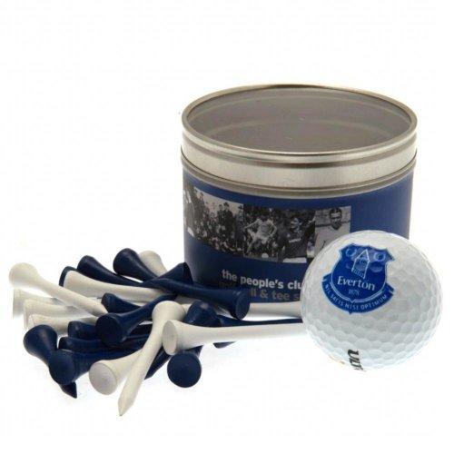 Everton FC Golf Ball And Tee Set