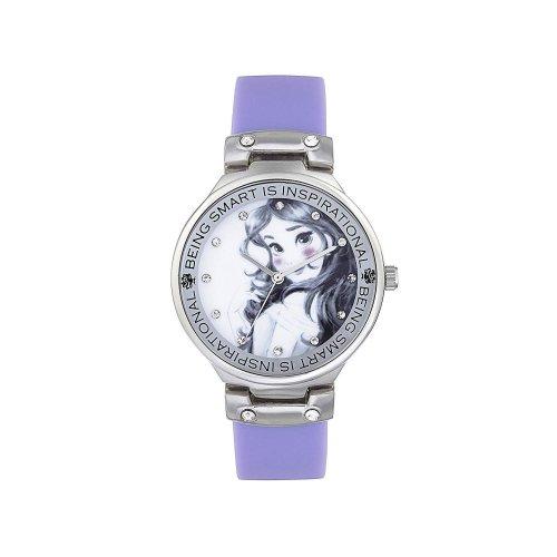 Childrens Kids Disney Princess Wrist Watch Purple Strap  PN1493