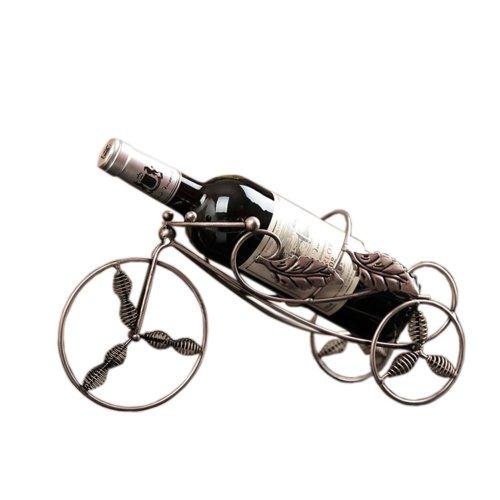 Bronze Tricycle Wine Rack Storage Organizer Display Champagne