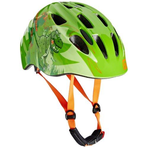 Cratoni Boy Akino Helmet - Dino Green Glossy, Small/49-53 cm