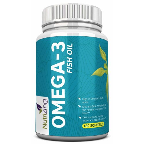 Deep Sea Omega 3 Fish Oil Capsules -High Strength EPA & DHA for Joints