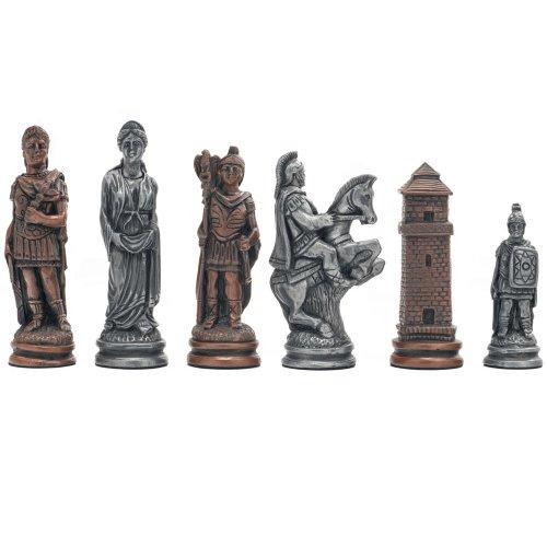Berkeley Chess Roman Metallic Chess Men