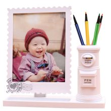 7-inch Baby Photo Frame Children Picture Frames Cute Photo Frame Pen Holder