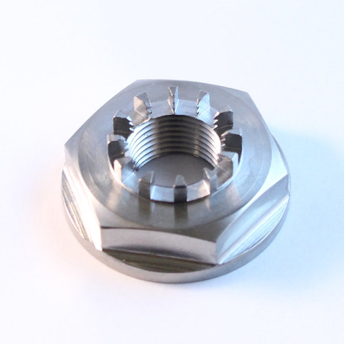 Honda TITANIUM replica of rear wheel nut