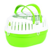 Happy Pet Small Animal Carrier Green (26cm)
