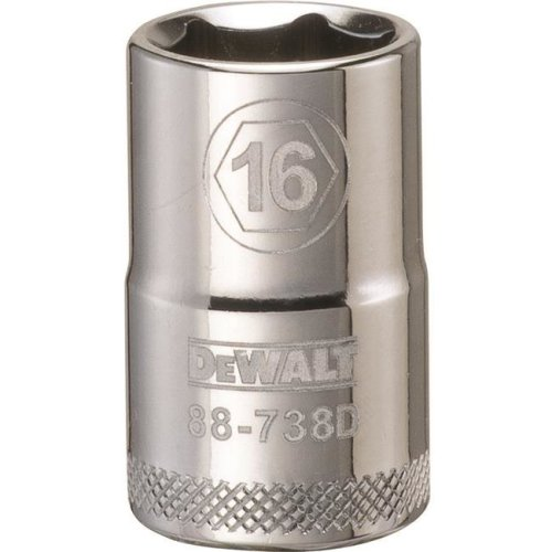 Stanley Tools 227906 16mm 6 Point Socket - 0.5 in. Drive