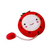 Cute Strawberry Tape Measure Rulers 150CM Ruler Measuring Tape, 3 Pieces