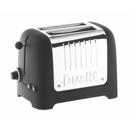 Dualit 2 Slice Lite Toaster in Black 26205