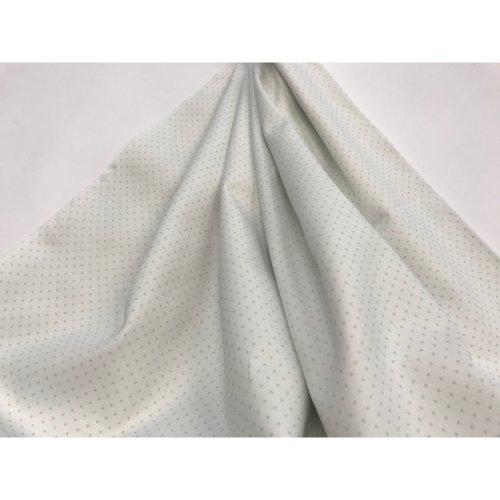 fabric cotton polka dot fabric apple green raw background - 100% cotton twill 2X 1 METERS