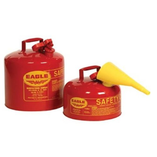 Eagle Mfg 258-UI-50-FS 5Gal Type 1 Safety Can W-Funnel