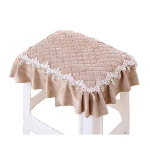 Rectangular Cushion Stool Pad Stylish Stool Pad Coffee Color