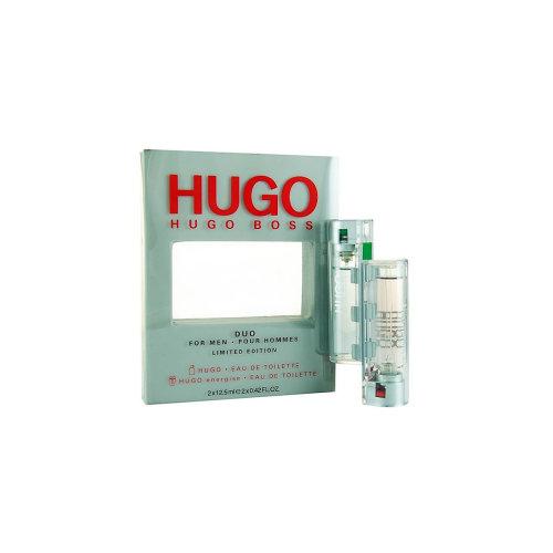 Hugo Boss Eau de Toilette Men's Duo Gift Set Spray Hugo & Energise (2 x 12.5ml)