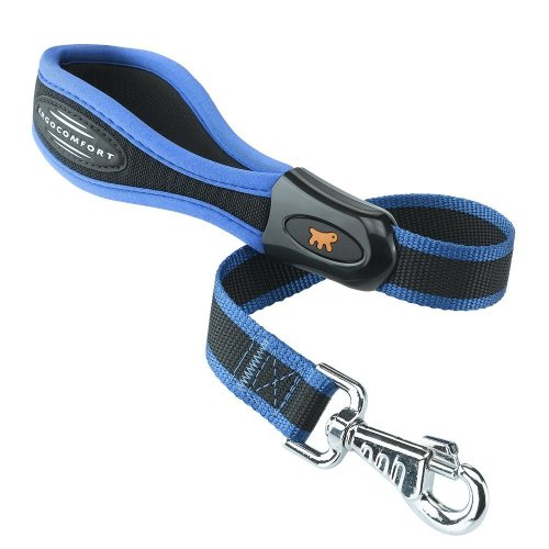 Ferplast Ergocomfort Dog Lead Padded 25mm X 55cm Blue