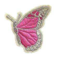 6 Pcs Exquisite Applique Patches DIY Applique Embroidered Patches, Pink