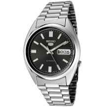 Seiko SNXS79K 5 Grey Men's Automatic Analogue Watch